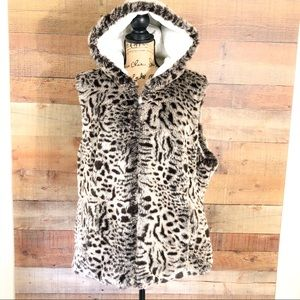 Kristen Blake Plus Size Reversible Vest Jacket